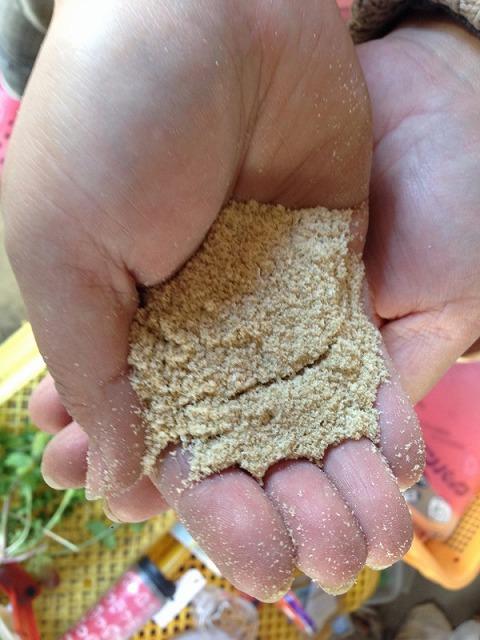 きれいな米ぬか