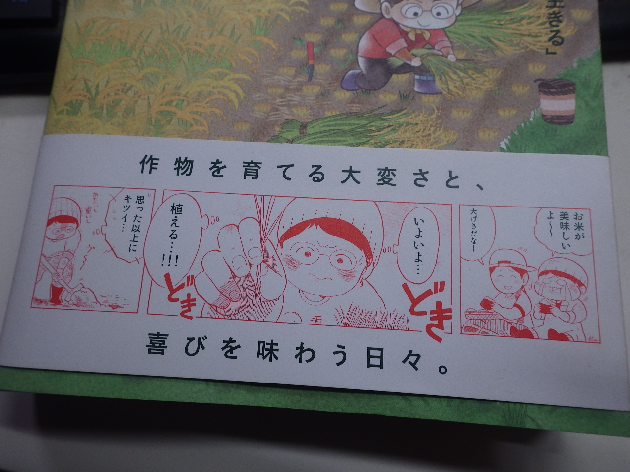 漫画「田んぼ、はじめました」